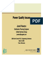 Power Quality Issue