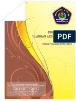 Program Kerja UAS Ganjil 2012