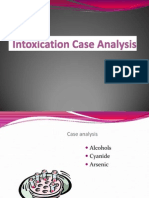 Intoxication Case Analysis