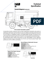 Scarab Magnum Hydrostatic Technical Specifications