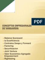 Conceptos Empresariales de Vanguardia