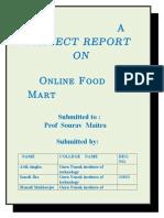 Report of Food Villa
