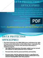 Data Protection Act  Over View and Its Implications