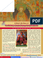 Lake of Lotus (4)-A Short Life Story of His Holiness Chadral Sangye Dorje Rinpoche-Dudjom Buddhist Association