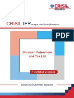 CRISIL Research Ier Report Dhunseri 2013
