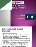 Sap ISU Online Training