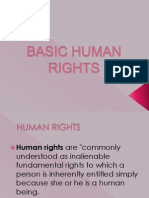 Basic Human Rights