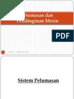 Pelumasan & Pendinginan Mesin - Ppse 17 Des 2013