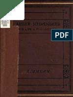 Arthur Schopenhauer - Helen Zimmern