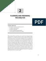 Planning and Preparing the Data Analysis