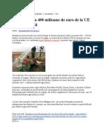 Despre Dezvoltarea Agriculturii Prin Irigatii in Romania Cu Fonduri UE