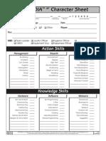 Paranoia XP - Fillable Character Sheet