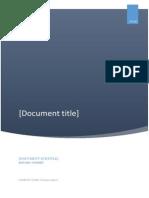 Proect Baze de date Titlul lucrarii