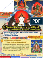 """Lake of Lotus (5)-The Meaning of Near-Death Experiences (5)-Reason for the Generation of the """"Light of Life and Death""""-By Vajra Master Pema Lhadren-Dudjom Buddhist Association"""