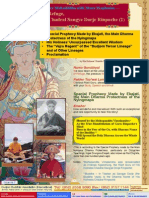 Lake of Lotus (7)-The Contemporary Mahasiddha With Many Prophesies-Our Lord of Refuge,H. H. Chadral Sangye Dorje Rinpoche (2)-By Vajra Master Yeshe Thaye and Vajra Master Pema Lhadren