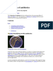 Production of Antibiotics