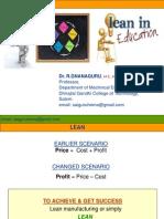 Lean in Education