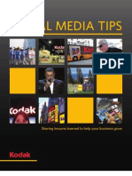 Social Media Tips from Kodak