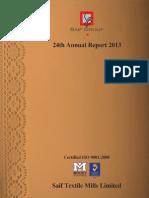 Saif Textile Report