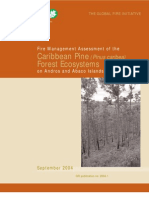 Fire Management Assessment of Caribbean Pine Ecosystems, Bahamas