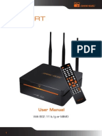Dane-Elec, High Definition Multimedia Hard Disk Drive, Wifi 802.11 b/g or MIMO, User Manual