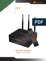 Dane-Elec, So-Smart, Unidad de disco duro multimedia de alta definición, Wifi 802.11 b/g o MIMO, Guía del usuario