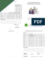 Raport Hafalan Hadits + Surat Pendek