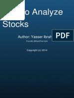 How to Analyze Stocks Quiz