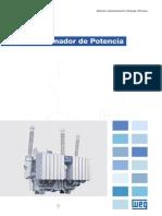 WEG-722.04. Transformadores de Potencia-Espanol
