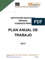 PLAN ANUAL DE TRABAJO CONDUCE PERÚ