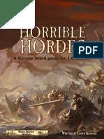 Horrible Hordes