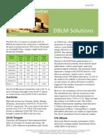 DBLM Solutions Carbon Newsletter 23 Jan 2014
