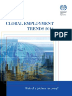 GLOBAL EMPLOYMENT TRENDS 2014 - Full Version