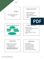 Handout 2 Project Identification & Screening