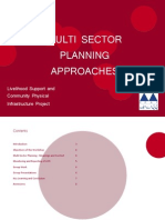 PPAF Multi Sector Planning Workshop Report 2012