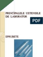 Ustensile de laborator CHIMIE