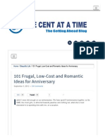 101 Frugal and Romantic Ideas for Anniversary _ One Cent at a Time