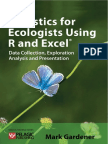 Statistics for Ecologists Using R and Excel. Sample (Ch.6)