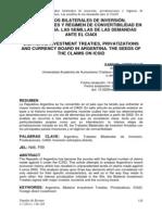 Tratados bilaterales de inversión, privatizaciones y régimen de convertibilidad en la Argentina. Las semillas de las demandas ante el CIADI