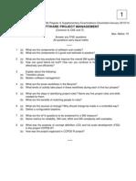 9A05707 Software Project Management