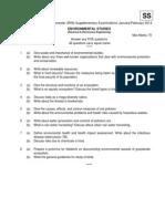 07A4EC01 Environmental Studies