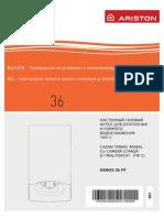 Manual de Instalare -ARISTON GENUS 36 FF