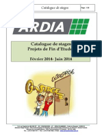Ardia Catalogue Stages Fev-juin 2014