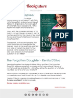 The Forgotten Daughter by Renita D'Silva | Bookouture Press Release