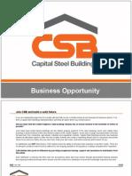Capital Steel Buildings -Business Opportunities-Uk