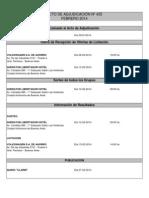 ACTO DE ADJUDICACIÓN Nº 435 - 12 de febrero de 2014
