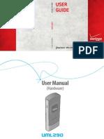 UML290 Hardware User Guide