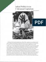 Radical Politics in an Era of Advanced Capitalism