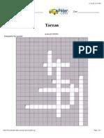 Tarzan Crossword Puzzle