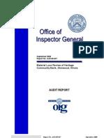 September 2009 Report No. AUD-09-027